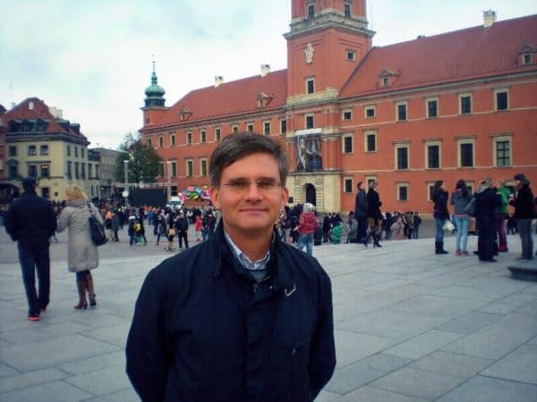 Przewodnik po Warszawie Bogusław Kurek mgr historii, licencja przewodnika