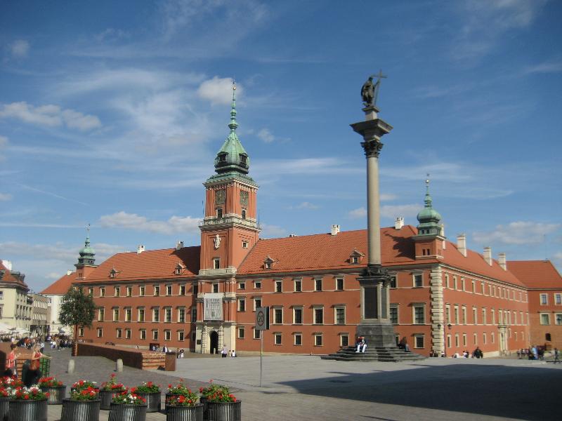 Zamek Królewski i Kolumna Zygmunta III Wazy