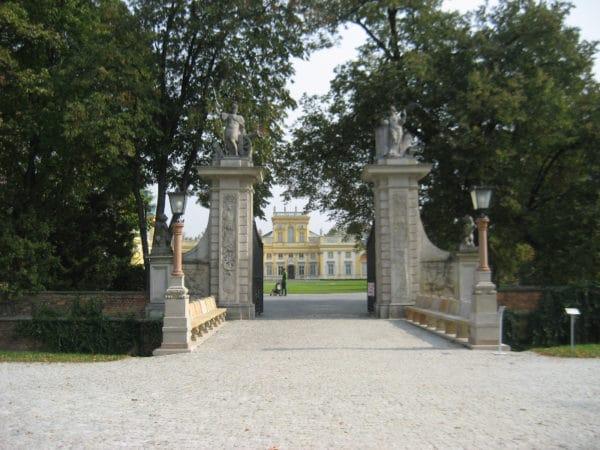 Brama Pałacu w Wilanowie