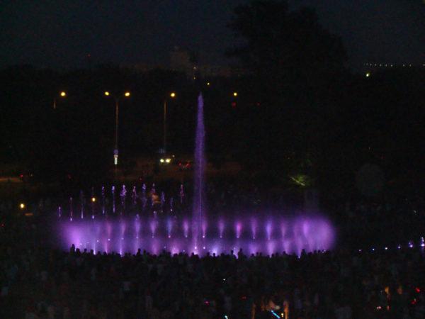 Fontanny na Podzamczu - widowisko światło i dźwięk