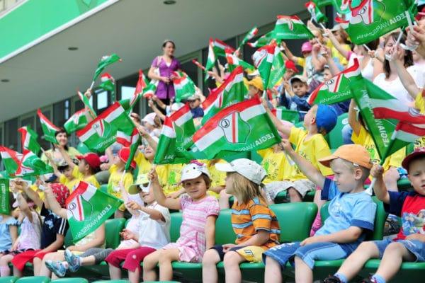 Wycieczka szkolna po Stadionie Legii Warszawa