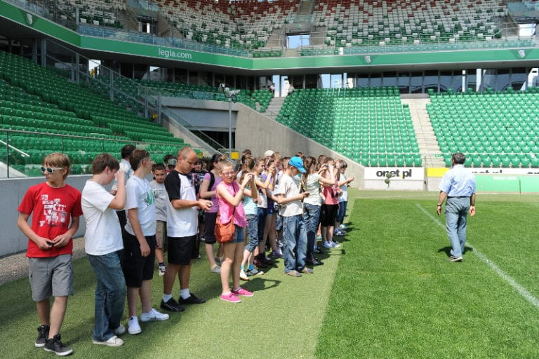 Wycieczka po Stadionie Legii Warszawa